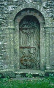 Locked Church Door